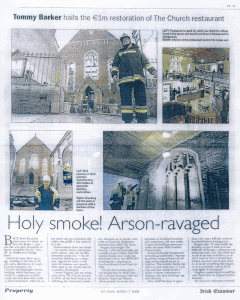 church-restaurant linehan construction irish examiner-article