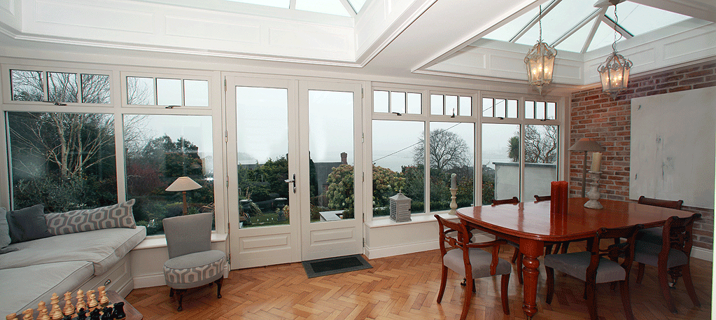 Monkstown Cork period home renovation conservatory & patio extension