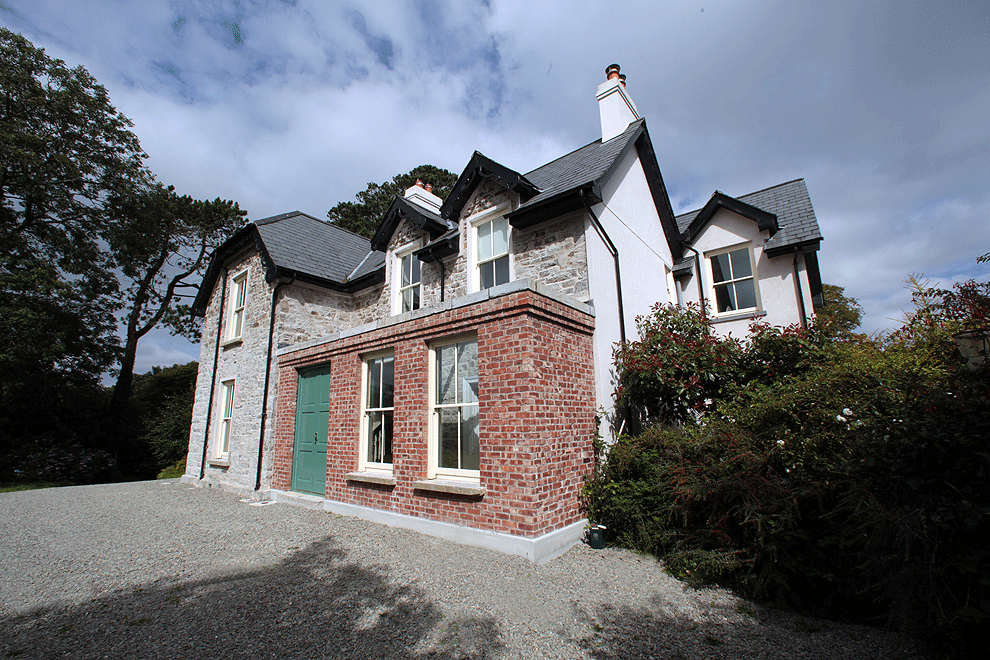 niall linehan construction refurbishment restoration of old parsonage drimoleague county cork