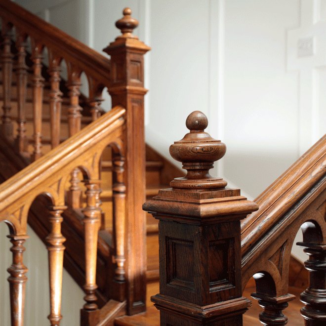 niall linehan construction restoration and refurbishment  antique french staircase detail cork