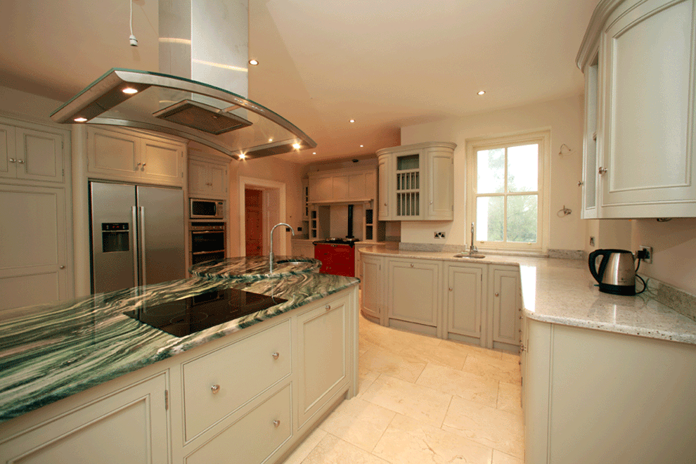 niall linehan construction old parsonage contemporary fitted kitchen