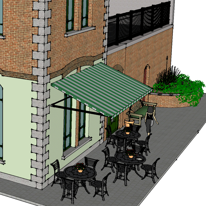 Church Restaurant Skibbereen outdoor seating area 660x660 6