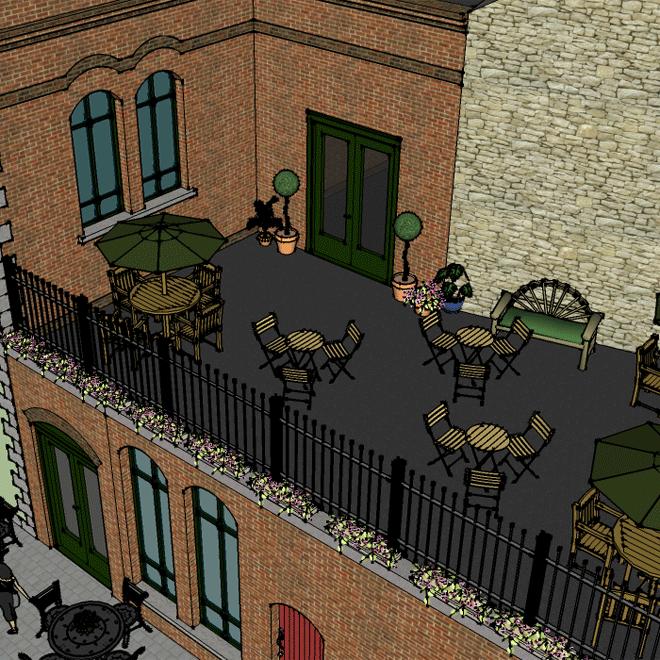 Church Restaurant Skibereen new roof terrace 660x660 4