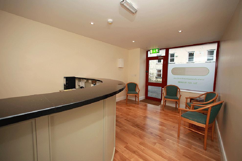 dunmanway-dental-practice reception waiting area-linehan-construction