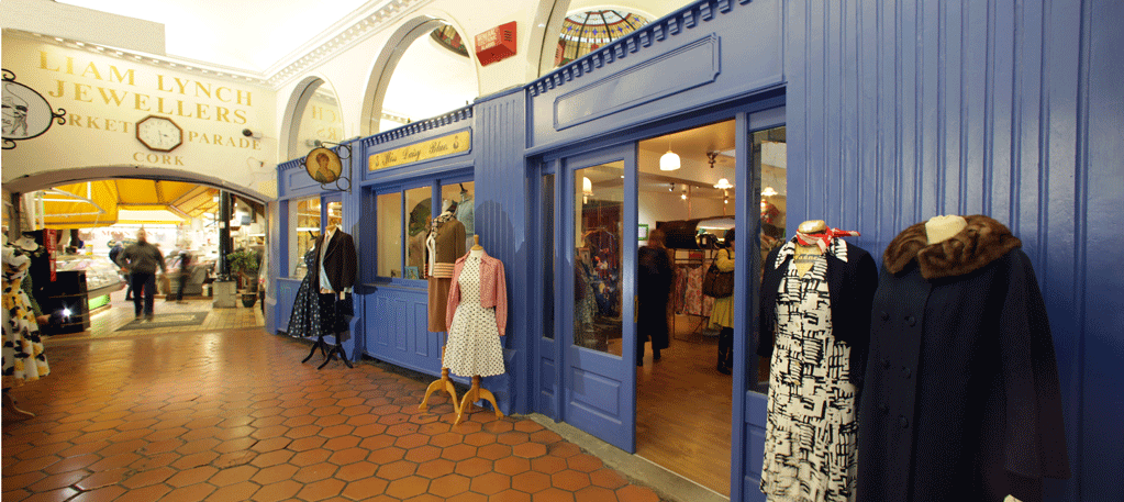 Miss Daisy Blue, The English Market Cork  Shop fit out